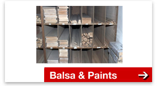 Balsa wood & paint